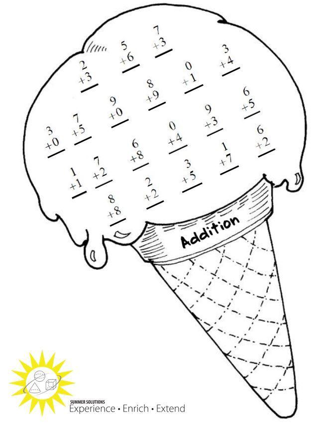 Ultimate Activity Pages For Kindergarten Summer Themed Worksheet ...