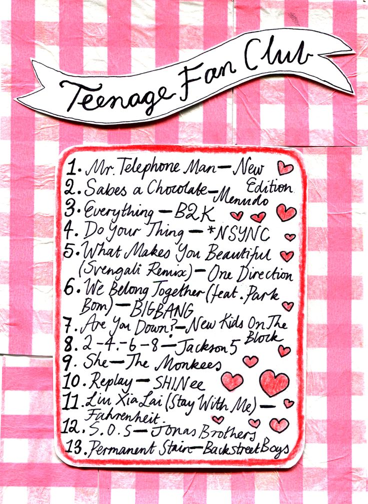 Rookie Magazine Friday Playlist: Teenage Fanclub