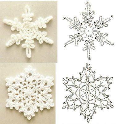 stelle di neve