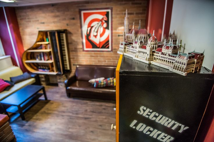 The best central Budapest hostel with renovated lounge and reception is waiting for you this summer!