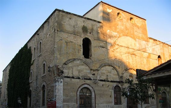 The church of Saint Charalambos of Cesme.