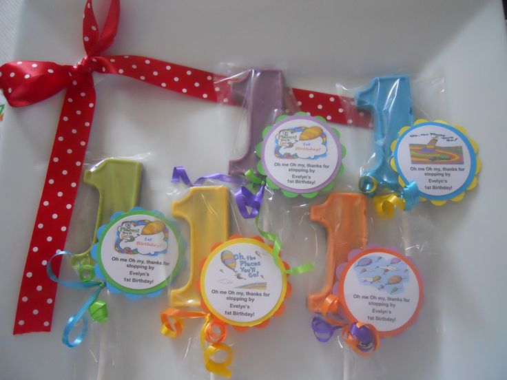 12 Oh the Places We Will Go Dr Seuss 1st Birthday Party Favor Gourmet Chocolate lollipops with custom tags by Hannahscustomfavors on Etsy