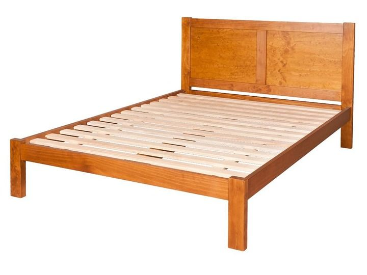 Portland Panel Queen Slat Bed Frame