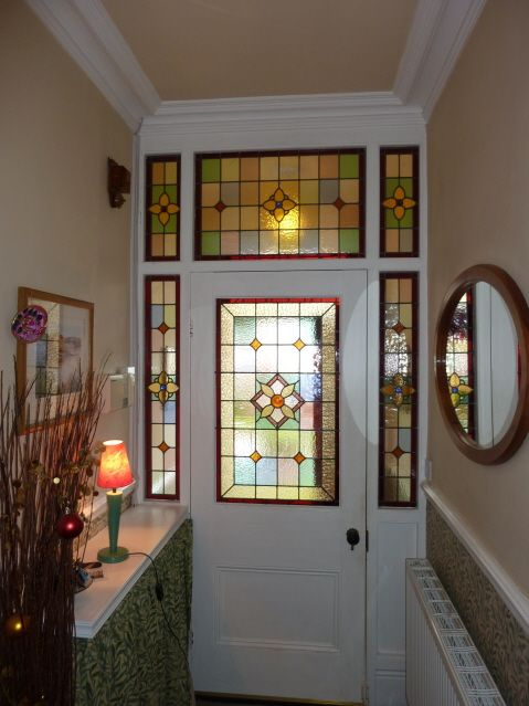 stained glass window patterns front doors - Google Search