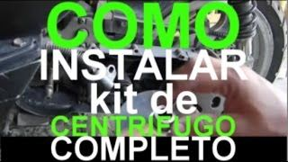 Tutorial Italika Ds Gs 150 Como Cambiar la Banda y Centrifugo Completo Scooter GY6 Ya No Pagues Mas