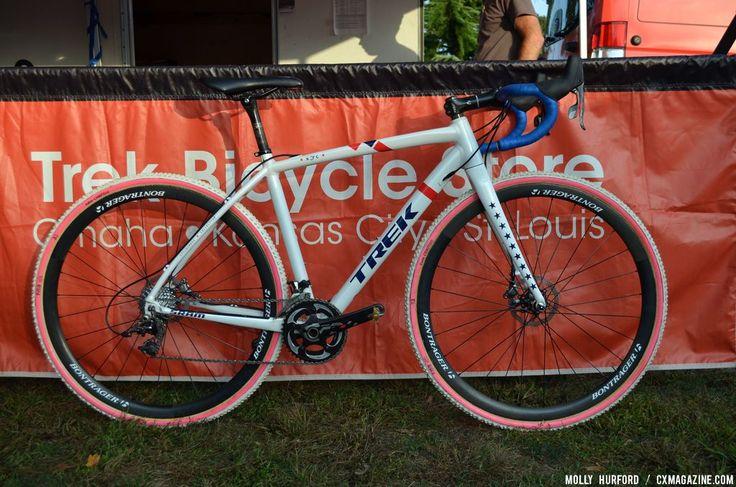 Pro Bike Profile: Katie Compton's Trek Crockett Aluminum Cyclocross Bike