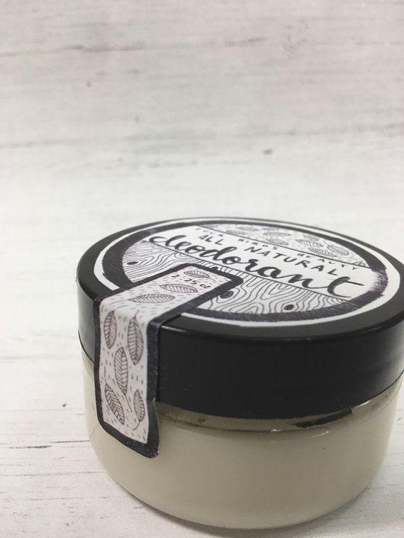 All Natural Deodorant { cream deodorant - aluminum free deodorant - odor eliminating deodorant - natural bath and body - personal care }