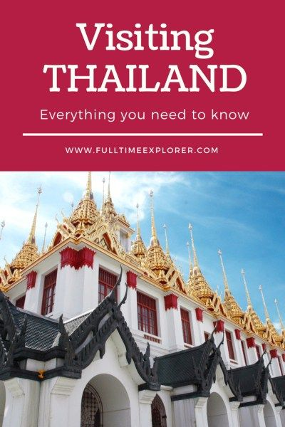 Everything you need to know before visiting Thailand - culture, customs, visa, food, safety Travel Honeymoon Backpack Backpacking Vacation #travel #honeymoon #vacation #backpacking #budgettravel #offthebeatenpath #bucketlist #wanderlust #Thailand #SEA #SoutheastAsia #exploreThailand #visitThailand #seeThailand #discoverThailand #travelThailand #ThailandVacation #ThailandTravel #ThailandHoneymoon