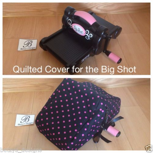 Sizzix-Big-Shot-Dust-Cover-Quilted-Free-Choose-Color-Quilted-New-Pattern