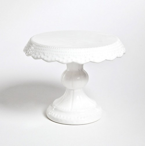 7in Cake Stand by The Modern Bakeware Shop // ornate + elegant homewares #productdesign