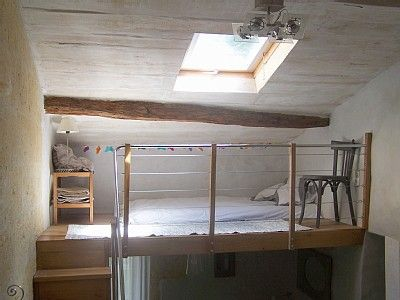 Not quite what i had in mind but its kind of cool amenagement combles pinterest kind of - Mezzanine bedlamp ...