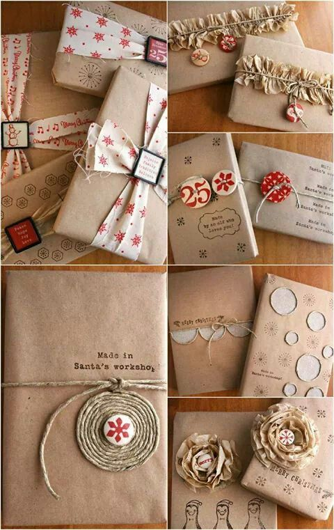Ideas envoltorio regalos