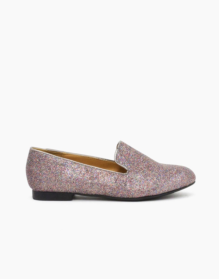 Glitter Loafers!