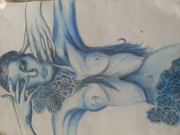 Mujer.azul