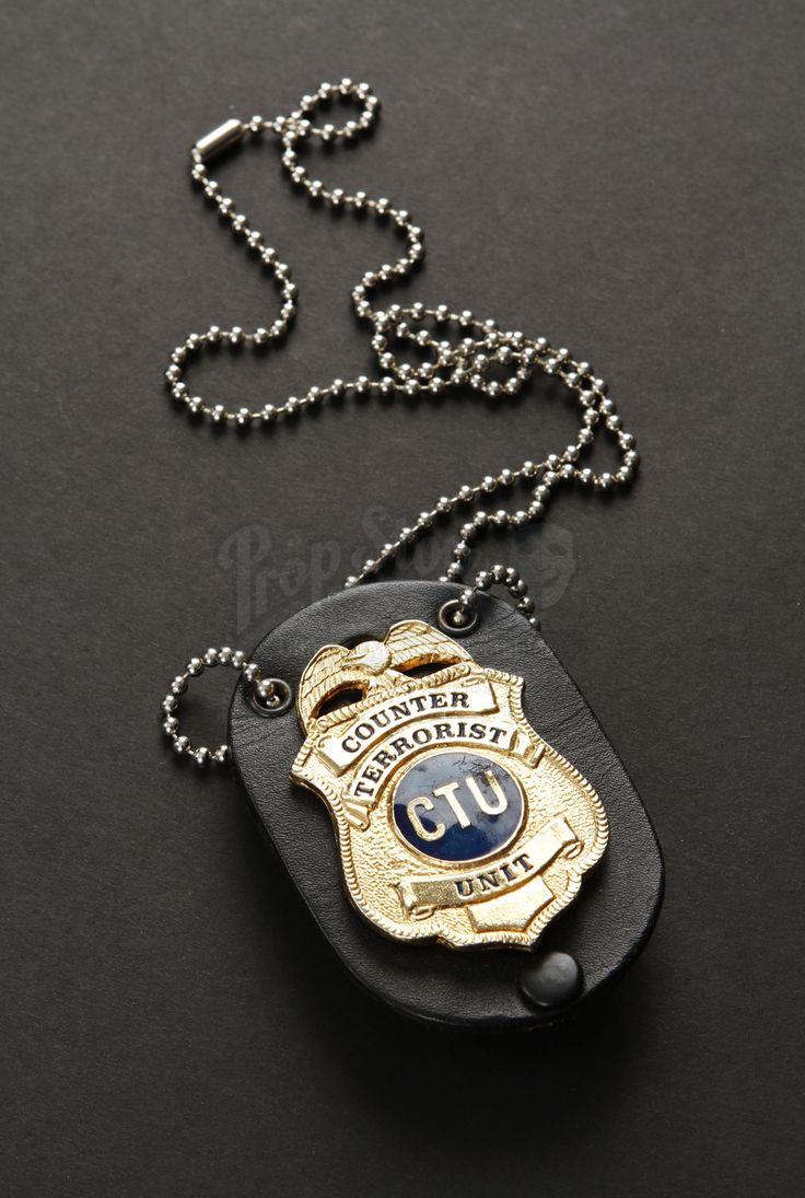 Jack Bauer's (Kiefer Sutherland) CTU Badge from 24