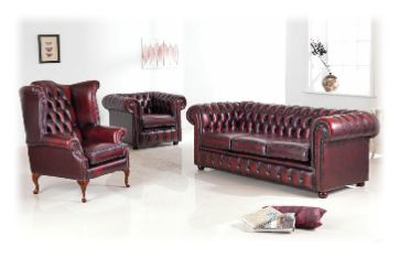 Classic leather - Chesterfield at its best