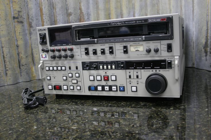 If you don't buy me now someone else will. http://tincanindustries.com/products/fully-tested-sony-bvw-75-betacam-sp-edit-record-playback-deck-free-shipping?utm_campaign=social_autopilot&utm_source=pin&utm_medium=pin If it is already sold, keep searching, there is plenty more to find.