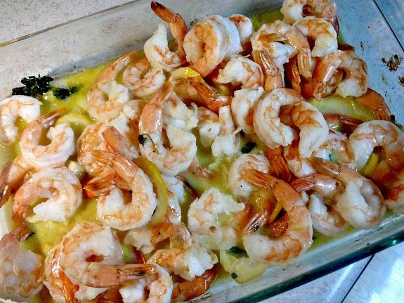 Mostly Food and Crafts: Roasted Shrimp with Lemon , Garlic + Herbs