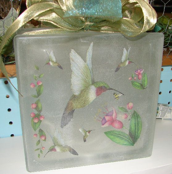 Glass Block Craft Ideas For Christmas Part - 42: Glass Block Crafts With - Yahoo Image Search Results
