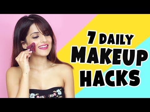 7 Daily Makeup Hacks | Tips Every Girl Should Know To Get Ready Faster | Knot Me Pretty - YouTube