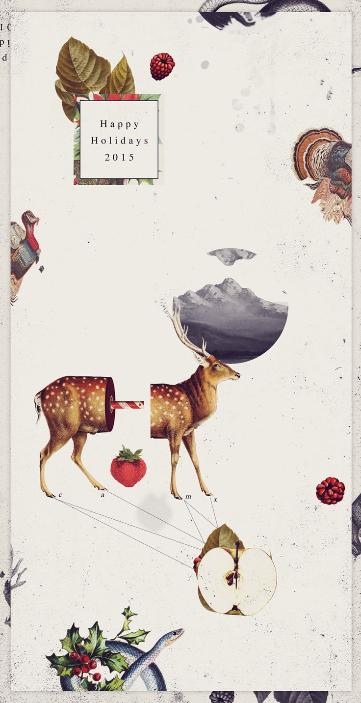 https://www.behance.net/gallery/32299415/Christmas-Card-2015                                                                                                                                                                                 More
