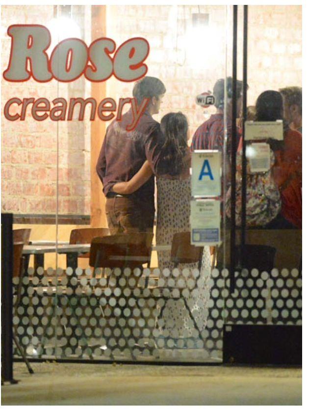 Mila Kunis and Ashton Kutcher, Mila's 31st Birthday, August 14, 2014
