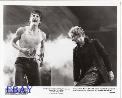 best rumble fish images matt dillon the  as it is at last released restored in hd accompanied by a collector s book we look back at francis ford coppola s cult film rusty james brought to life