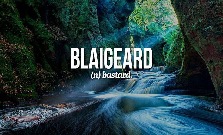 Sweary Scottish Gaelic Words                                                                                                                                                      More