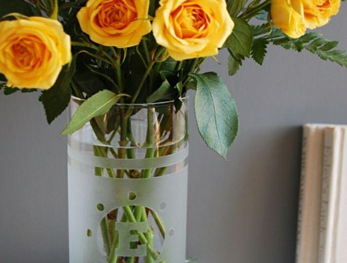 40 best vasse en verre images on pinterest   flower, ikea and vases