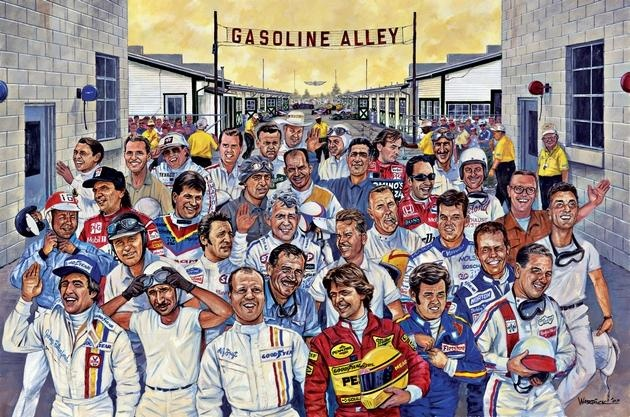 All-time Indy 500 starting grid (33 of the greatest at Indy)