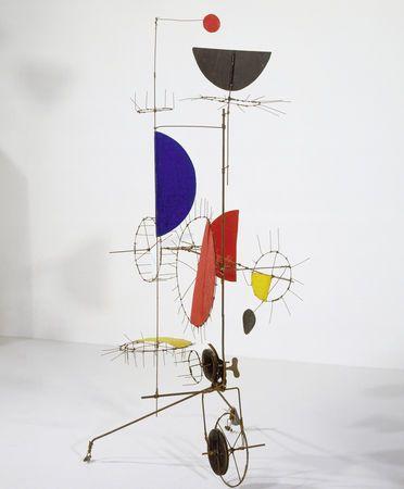 Jean Tinguely  Sculpture méta-mécanique automobile, Sculpture méta-mécanique, 1954