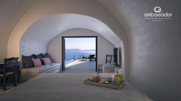 Enjoy luxurious stay at Ambassador and tempt your senses in the most thrilling holiday destination! more at ambassadorhotelsantorini.com