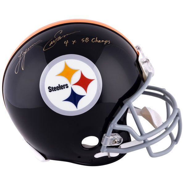 Lynn Swann Pittsburgh Steelers Fanatics Authentic Autographed Riddell Pro-Line Throwback Helmet with 4X SB Champs Inscription - $749.99