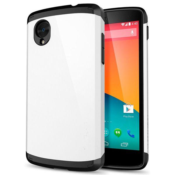 Θήκη Πλαστική Armor Case OEM Λευκό (Google Nexus 5) - myThiki.gr - Θήκες Κινητών-Αξεσουάρ για Smartphones και Tablets - Χρώμα λευκό