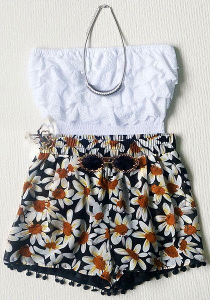 Bloom Floral Shorts