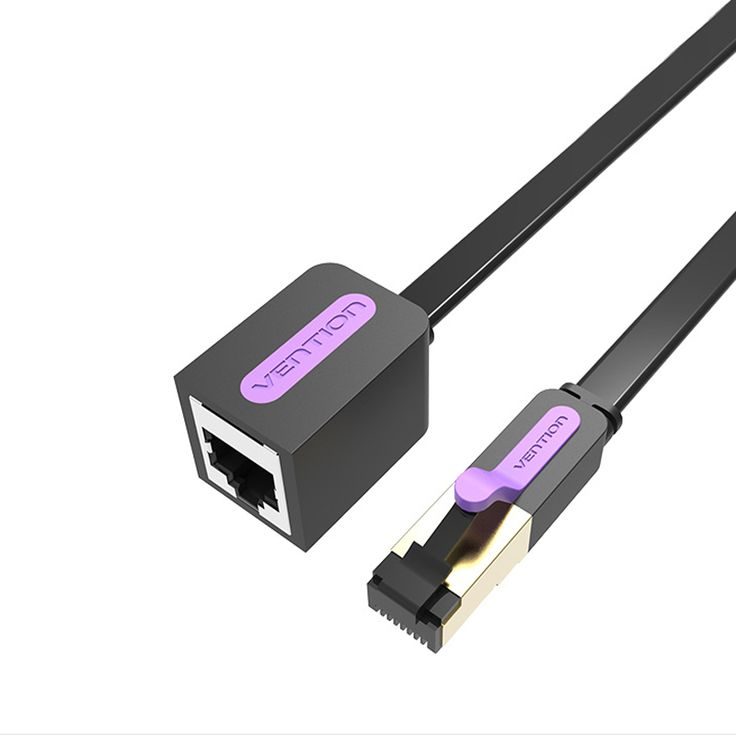 Vention 0.5-10M Ethernet Cable RJ45 Cat 7 Extender Cable Male to Female Lan Cord for PC Laptop