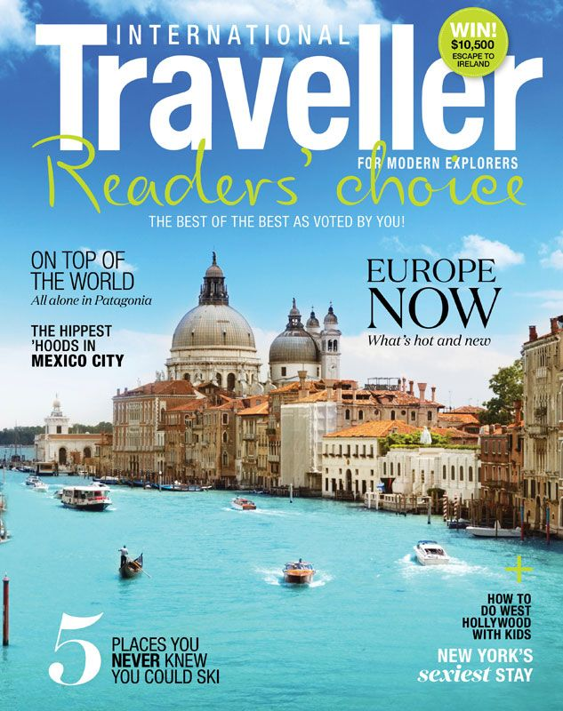 Issue 17 of International Traveller magazine, featuring our Readers' Choice Awards.