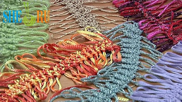 Hairpin Lace Strips Tutorial 2 Basic Hairpin Crochet