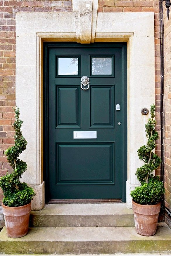 home green front doors front door paint colors paint doors wood. Black Bedroom Furniture Sets. Home Design Ideas