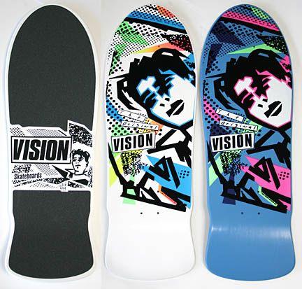 Vision Mark Gonzalez Skateboard Vintage