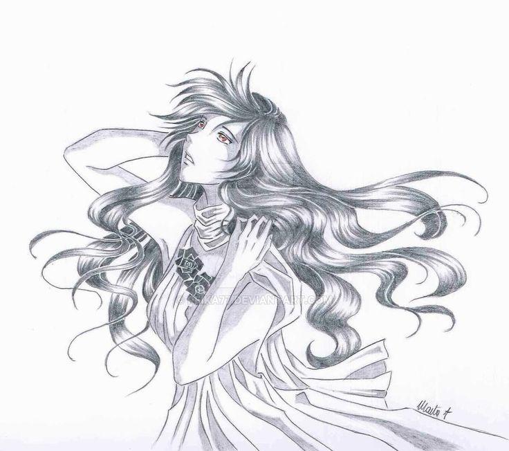 Reika Miura (Vampire Knight OC) by Reika77.deviantart.com on @DeviantArt #vampire #vampireknight #fanart #anime #manga #girl #fanart