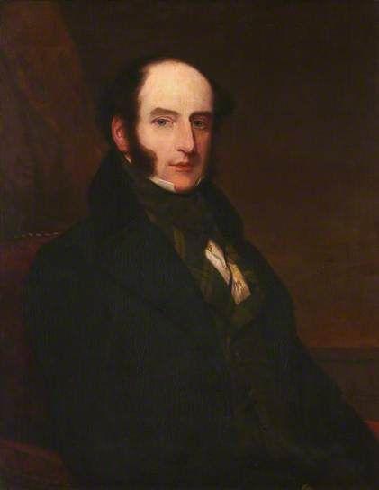 Portrait of Robert Liston (1794–1847), Scottish surgeon