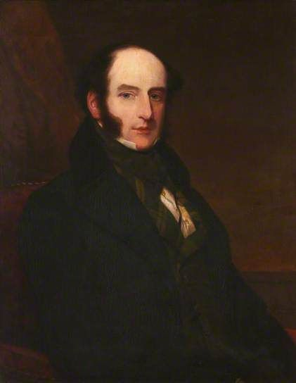 Portrait of Robert Liston (1794–1847), Scottish surgeon