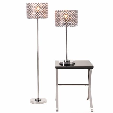Allure Lamp Collection from Z Gallerie #zgallerie I love the the floor lamp it  adds sophistication and glamour to the room.