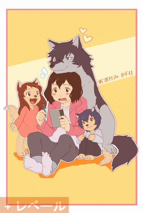 Wolf Children / Ookami Kodomo No Ame To Yuki-Anime