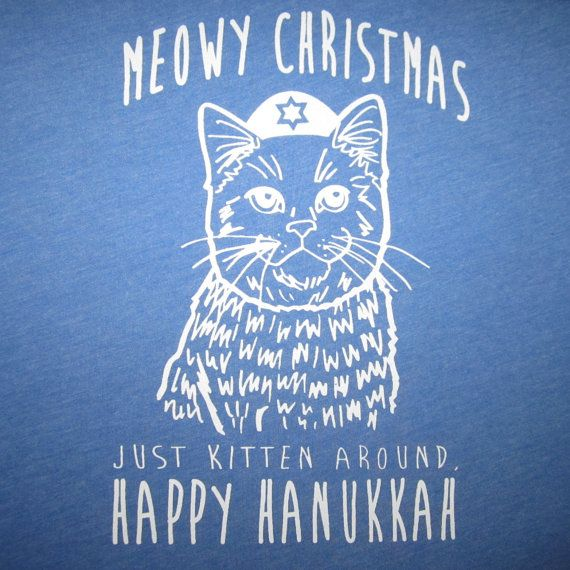 womens meowy christmas just kitten around by BetterThanRealLife