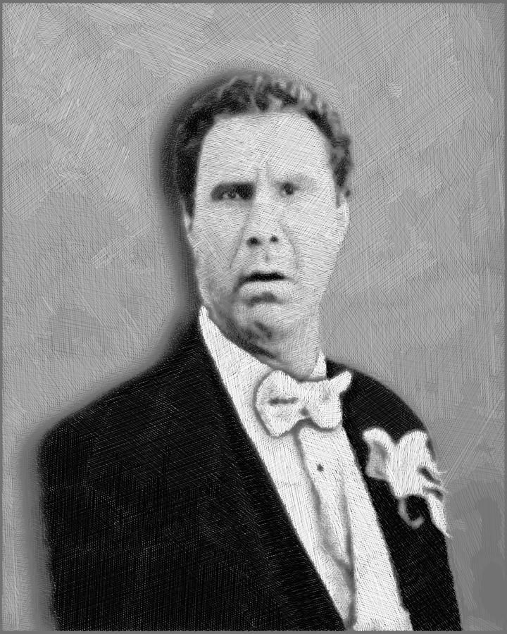 Will Ferrell Old School  Drawing