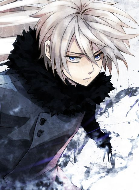 Anime Guy With White Hair And Sword Google Search Anime Cosplay
