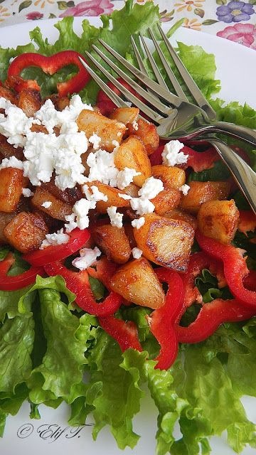 ÖGYE: Pirított csicsóka saláta