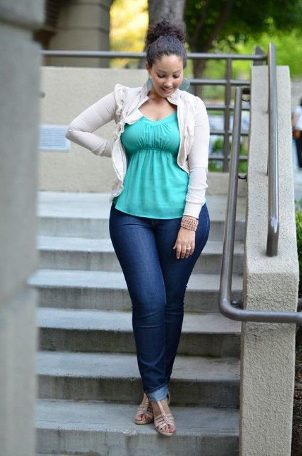 17 Best ideas about Plus Size Jeans on Pinterest | Plus size style ...